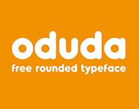 Oduda - Rounded Typeface (Bold)