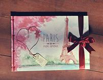 Paris Mon Amour Photo Album