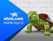 Otelz.com - Mobile App UI