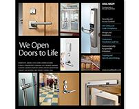 Door Security Solutions   Layout & Marketing Materials