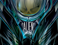 ALIEN 35 -Vector-Poster Posse Tribute