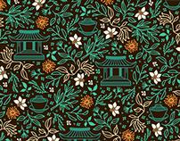 "Pattern for ""Kinesiska Te Compagniet"""