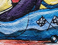Meu primeiro Graffiti - Mutirão Escola Annita Atalla