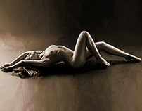 Woman beauty illustration