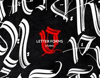 Letter Forms studio