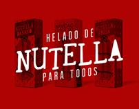 Helado de Nutella para todos