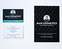 Man Cosmetics branding