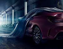 Mercedes CLA – Full CGI