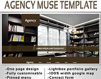 Agency - One Page Template