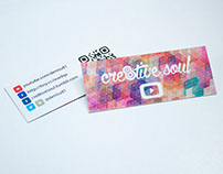 Cre8tive Soul YouTube Business Cards