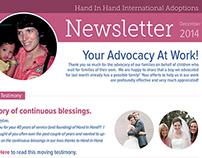 Newsletter - Hand In Hand International Adoptions