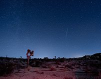 Time-lapse ~ Geminid Meteor Shower