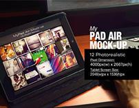 myPad Air Mock-up