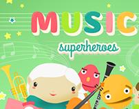 Music Superheroes