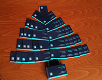 Christmas tree with Business cards
