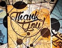Thank You card for the DES2014 Senior Showcase