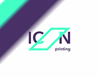ICON Printing — idents and logo animations