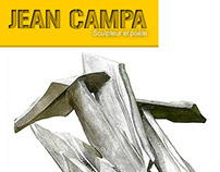 UI Webdesign + Logo for Sculptor and Poet (Jean Campa)