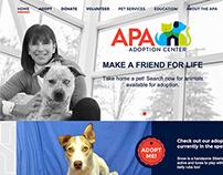 APA Adoption Center Branding and Website