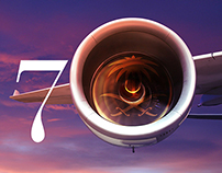 Saudi Airlines 70 Years