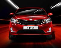 Automotive project for Kia RIO 2014