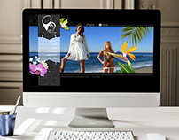 Black Flamingo Website Design
