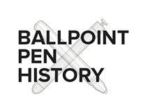 Ballpoint pen history
