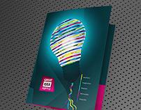 [Free Ai Template] Light Bulb Folder Design