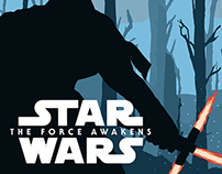 Star Wars The Force Awakens // Poster Design