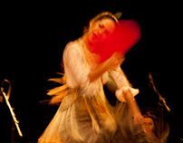 Flamenko in Red
