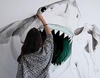 Wall Art - Sharks