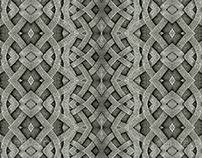 4 Stone Arabesque Patterns in Gray Tones
