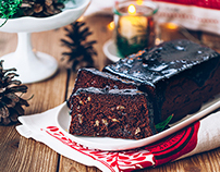Gingerbread cake, gluten and sugar-free