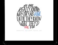 MLK Quote Illustration