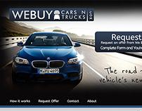 We buy cars n trucks layout