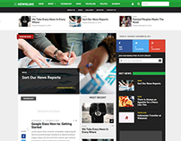 Newsline - Responsive News and Magazine WordPress Theme