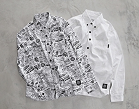 Filter017 HKT Collection - Graphics Pattern Shirt