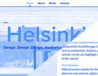 Explore: Helsinki — Travel Website