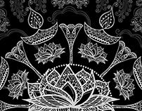 KOLAM (RANGOLI) ART