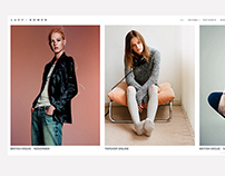 Lucy Bower Vogue Stylist Web Design and Development