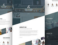 Angle Business Agency Web Template Design