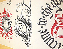 Calligraphy Collection 2