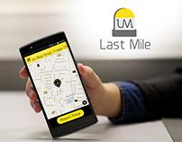 Last Mile - Ride sharing app UI/UX