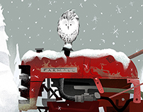 The Snowy Owl Tractor