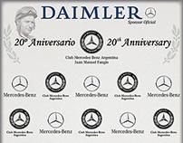 Banner Club Mercedes-Benz