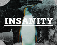 Insanity — site of crazy man