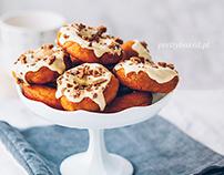 Pumpkin & gingerbread spice doughnuts