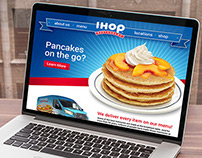 IHOP Landing Page
