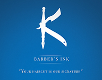 BARBER'S INK - FLYERS/ BUSINESS CARDS
