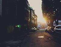 Alleys in the winter